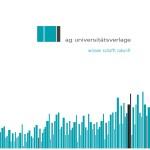 Flyer Arbeitsgemeinschaft der Universitätsverlage, Stand: Oktober 2013
